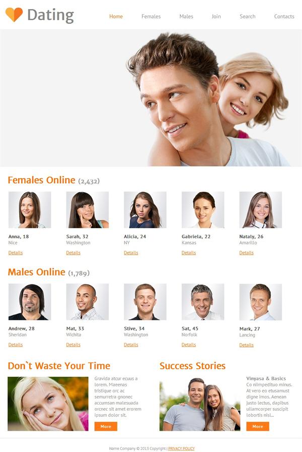LuvFreecom - Free Dating Site